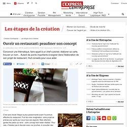 Ouvrir un restaurant: peaufiner son concept