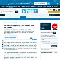 Le restaurant portugais n'en finit plus de grossir - 09/05/2012