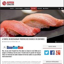 A Tokyo, un restaurant propose des sushis à 10 centimes !