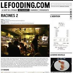 Restaurant Racines 2 à