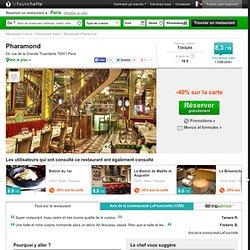 Restaurant Pharamond - avis, prix et réservation au restaurant Pharamond