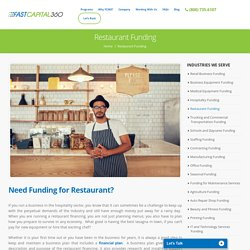 Business Loans for Restaurants