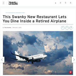 This new restaurant is aboard a retired plane - INSIDER