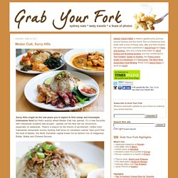 Grab Your Fork: A Sydney food blog food blog - restaurant review