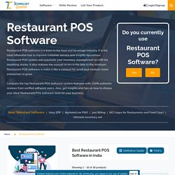 Best Restaurant POS Software in India 2021(Free Demo, Review)