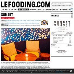 Restaurant Sunset 75018
