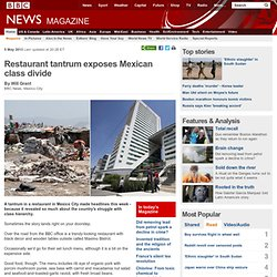 Restaurant tantrum exposes Mexican class divide