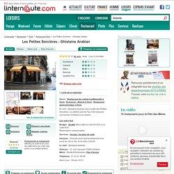 Les Petites Sorcières - Ghislaine Arabian, restaurant de cuisine traditionnelle à Paris, avec L'Internaute