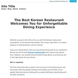 best korean restaurants in seoul