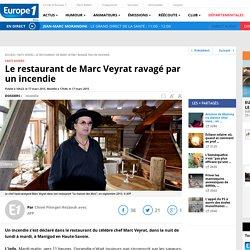 Le restaurant de Marc Veyrat ravagé par un incendie électrique