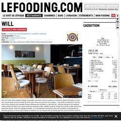 Restaurant Will 75012