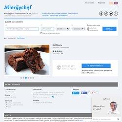 Restaurante Did Platets en Barcelona - Allergychef.es