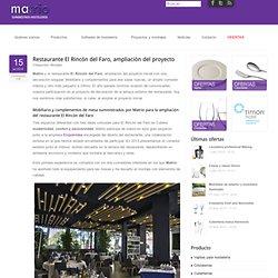Restaurante El Rincón del Faro, ampliación del proyecto
