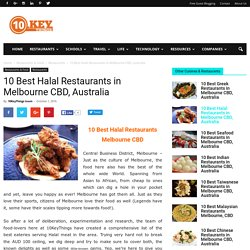 10 Best Halal Restaurants in Melbourne CBD, Australia - 10KeyThings