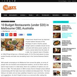 Best Budget Restaurants