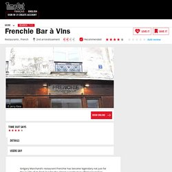 Frenchie's bar à vins 75002 !