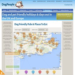 Dog Friendly Pubs & Places To Eat in East Sussex