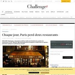 Pourquoi, chaque jour, deux restaurants disparaissent à Paris - Challenges.fr