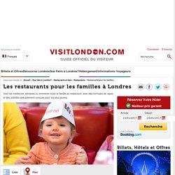 Les restaurants pour les familles à Londres - Que Faire à Londres?