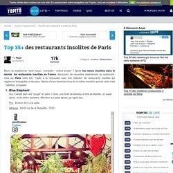 Top 20 restaurants insolites et originaux à Paris