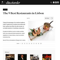 The 9 Best Restaurants in Lisbon