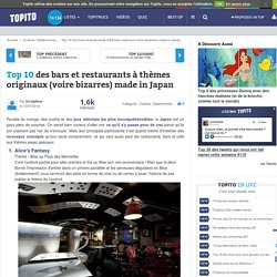 Top 10 des bars et restaurants à thèmes originaux (voire bizarres) made in Japan