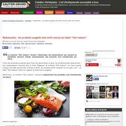 """Restaurants : les produits surgelés sont enfin exclus du label """"fait maison"""""""