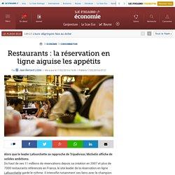 Restaurants: la réservation en ligne aiguise les appétits