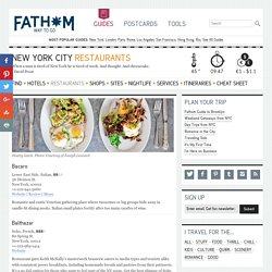 FATHOM Cool Restaurant Reviews and Reservations, Travel Guides
