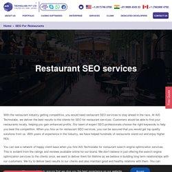 Seo for restaurants - Best seo services for restaurant