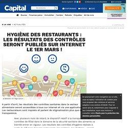 CAPITAL 19/01/17 Hygiène des restaurants : les résultats des contrôles seront publiés