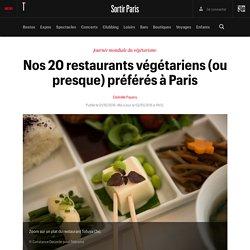 Nos 20 restaurants végétariens (ou presque) préférés à Paris - Sortir