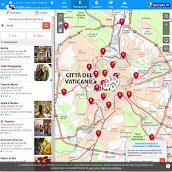 Restaurants Michelin Rome - ViaMichelin