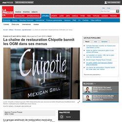 La chaîne de restauration Chipotle bannit les OGM dans ses menus