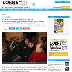 L ORNE COMBATTANTE 18/12/14 La Ferté-Macé Des circuits courts dans la restauration collective