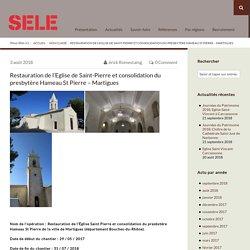 Restauration de l'Eglise de Saint-Pierre et consolidation du presbytère Hamea...