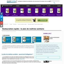 Restauration rapide : le plan de maîtrise sanitaire - Aide juridique entreprise gratuite
