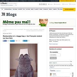 Restauration et «doggy bag»: les Français restent sur leur faim