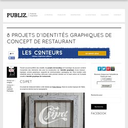 Branding : 8 idées de conception de restaurant et restauration