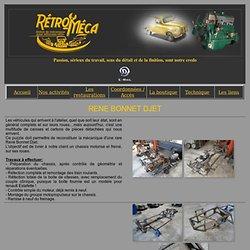 Restauration Matra Djet par Rétro-Méca