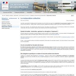 PREFECTURE DE LOIRE ATLANTIQUE 12/07/12 Des obligations spécifiques en matière de sécurité sanitaire des aliments