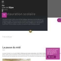 Ville de Dijon - Restauration scolaire