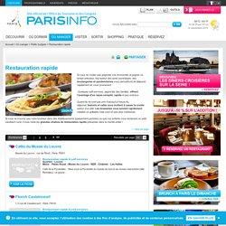 Restauration rapide Paris