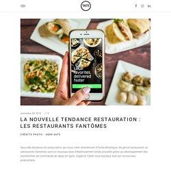 La nouvelle tendance restauration : les restaurants fantômes – Taste Agence Digitale