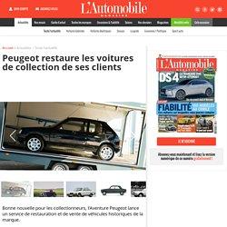 Peugeot restaure les voitures de collection de ses clients - L'Automobile Magazine