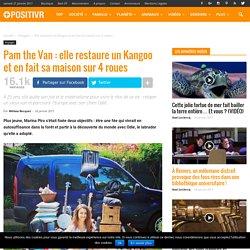 Pam the Van : elle restaure un Kangoo et en fait sa maison sur 4 roues