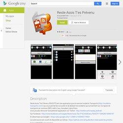 Reste Assis T'es Prévenu - AndroidMarket