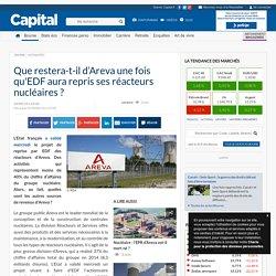 Que restera-t-il d'Areva une fois qu'EDF aura repris ses réacteurs nucléaires