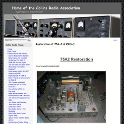 Home of the Collins Radio Association