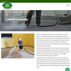 Get Carpet Cleaning Services in Falls Church